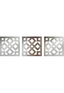 Espelho Love Decor Decorativo Kit Ladrilho Único - Kanui