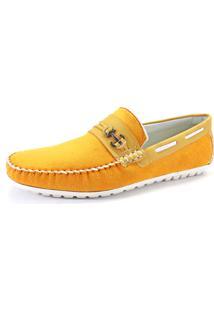 Mocassim La Faire 3051 Amarelo