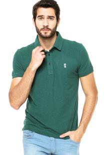 Camisa Polo Sergio K Botões Verde