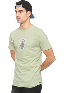 Camiseta Volcom Digi Pool Verde