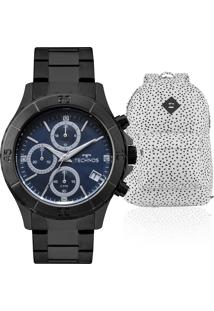 58fce0cb17b Relógio Digital Aco Kit feminino