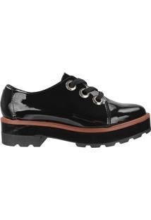 Sapato Moleca Verniz Preto - 35