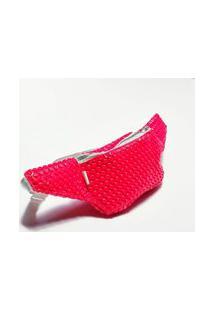 Bolsa Pochete Equal Moda Inclusiva Plástico Bolha Vermelha