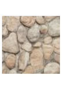 Papel De Parede Modern Rustic 122103 Vinílico Com Estampa Pedra