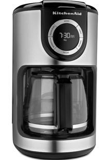 Cafeteira Elétrica Kitchenaid 127V Onyx Black 1,9 Litros Programável
