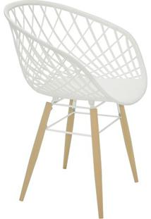 Cadeira Sidera- Branca & Bege- 82X63X55,5Cm- Tratramontina