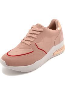 Tênis Vizzano Dad Sneaker Chunky Rosa