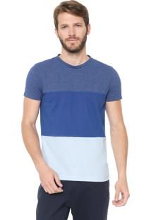 Camiseta Tommy Hilfiger Colour Block Azul