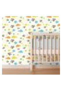 Papel De Parede Autocolante Rolo 0,58 X 3M Baby 86313967
