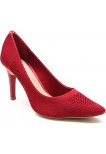Sapato Scarpin Tanara Malha