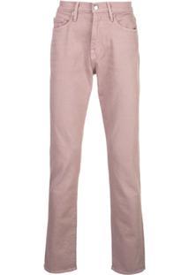 Frame L'Homme Slim Jeans - Rosa