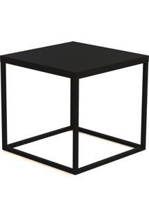 Mesa Cube M Preto Artesano