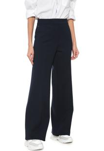 ... Calça Lacoste Pantalona Denim Azul-Marinho 2553f32d03