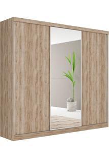 Guarda Roupa Casal Com Espelho Dubai 3 Pt 4 Gv Cedro