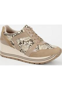 Tênis Feminino Sneaker Animal Print Dakota