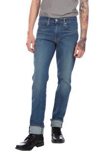 Calça Jeans Levis Man 511 Slim Performance Stretch Azul Médio Azul
