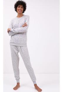 5088616f58e1a9 Lojas Renner Pijama Manga Longa Floral