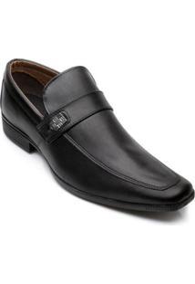 Sapato Social Bkarellus Masculino - Masculino-Preto