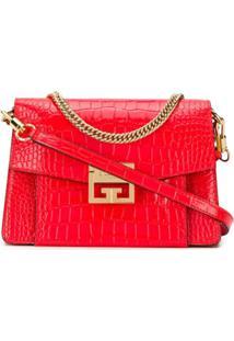 Givenchy Bolsa Transversal Gv3 Pequena - Vermelho