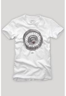 Camiseta Reserva Calota Masculina - Masculino-Branco