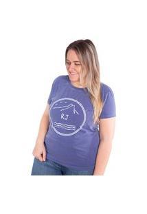 Camiseta Birdz Estampada Azul Marinho