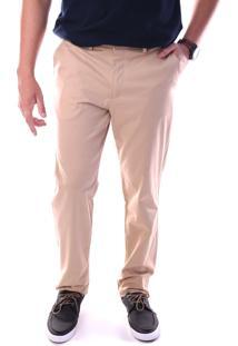Calça 3018 Sarja Areia Traymon Modelagem Regular