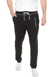 Calça Calvin Klein Underwear Jogger Logo Preta