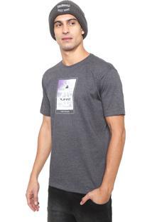 Camiseta Volcom Peace Glitch Grafite