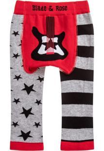 Meia Calça Legging Guitarra Blade & Rose