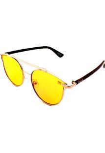 Óculos De Sol Drop Me Gatinho Ícone Amarelo