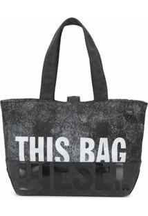 Diesel Bolsa Tote This Bag - Preto