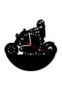 Relógio De Parede Decorativo - Modelo Motoqueiro