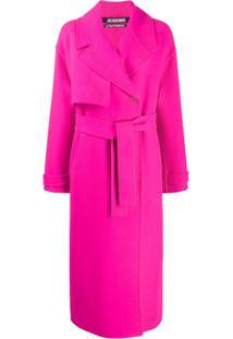 Jacquemus Trench Coat Oversized 'Sabe' - Rosa