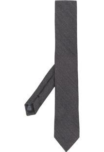 Dolce & Gabbana Gravata Com Textura - Preto