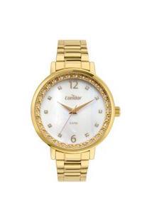 Relógio Condor Feminino Analógico Dourado Co2036Mujk4B