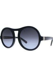 Óculos De Sol Feminino Chloé Ce715S 001 57 Preto