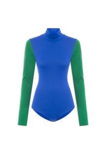 Body Bicolor - Azul