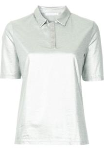 Fabiana Filippi Metallic Effect Polo Shirt - Metálico