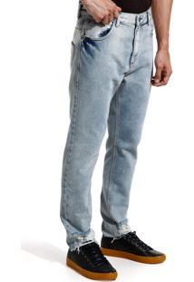 Calça John John Rock Monchau Jeans Azul Masculina Cc Rock Monchau-Jeans Claro-40