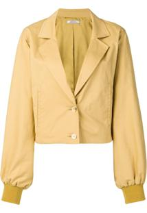 Nina Ricci Cropped Jacket - Neutro