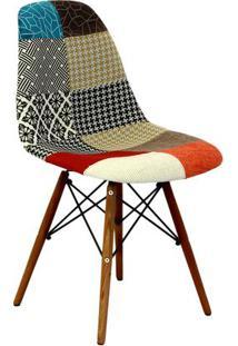Cadeira Eames Dkr Patchwork- Mix- 80,5X46,5X42Cmor Design