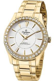 Relógio Champion Passion-Cn2872 - Feminino-Dourado