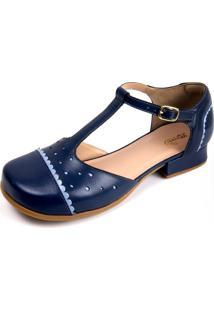 Sapato Miuzzi Índigo / Azul Bebe Ref: 3201