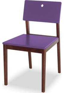 Cadeira Flip 81 Cm 921 Cacau/Roxo - Maxima