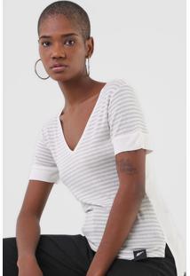 Blusa Ellus Shine Off-White