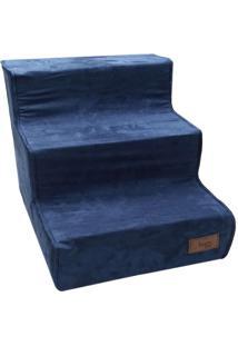 Escada Suede- Azul- 44X53X38Cm- Polo Exchangepolo Exchange