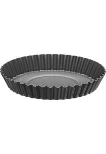 Forma Para Torta- Cinza Escuro- 4Xã˜22Cm- Tramonttramontina