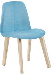 Cadeira Pinha F90 Lona – Daf Mobiliário - Azul