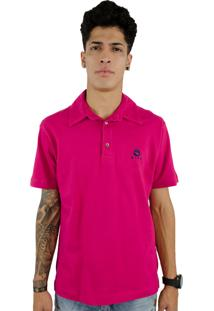 Camiseta Polo Wind Beach Strash Pink