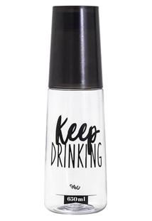 Garrafa Moringa Plástica - Keep Drinking Uatt? - Unissex
